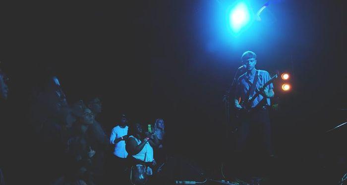 Cymbals live
