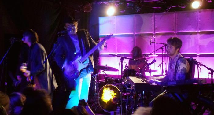 Palma Violets live by Matt Matasci