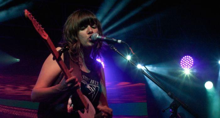 Courtney Barnett live by Corey Bell