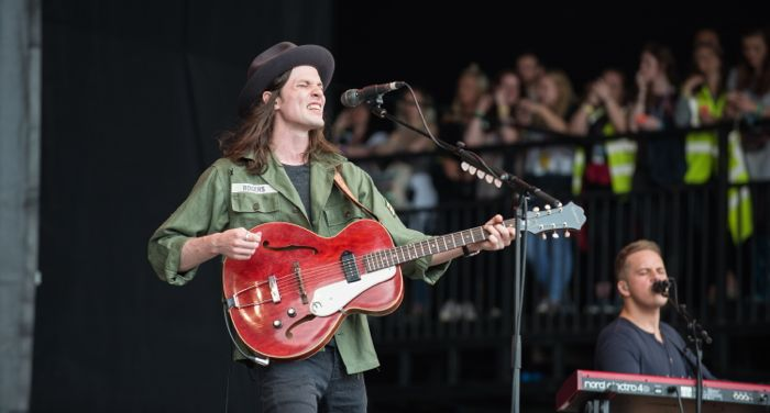 James Bay live at Glastonbury by Nathan Dainty