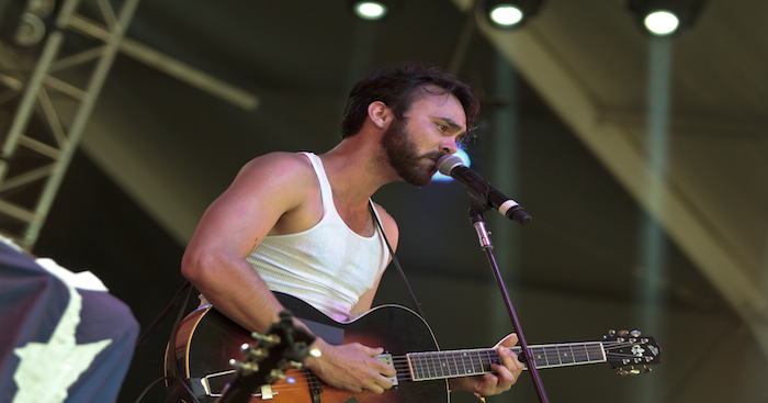 Shakey Graves at Bonnaroo by Sarah Hess
