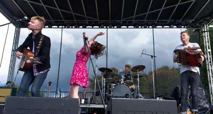 Skinny Lister live by Sarah Hess