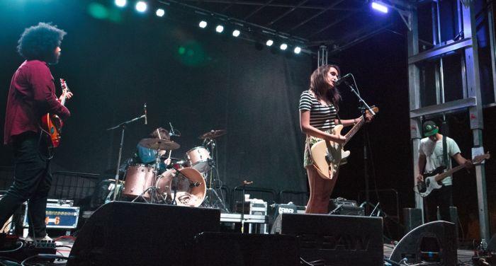 Speedy Ortiz live by Sarah Hess