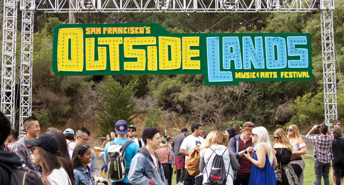 Outside Lands by Corey Bell for BEST NEW BANDS
