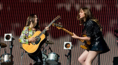 Haim at Glastonbury by Nathan Dainty