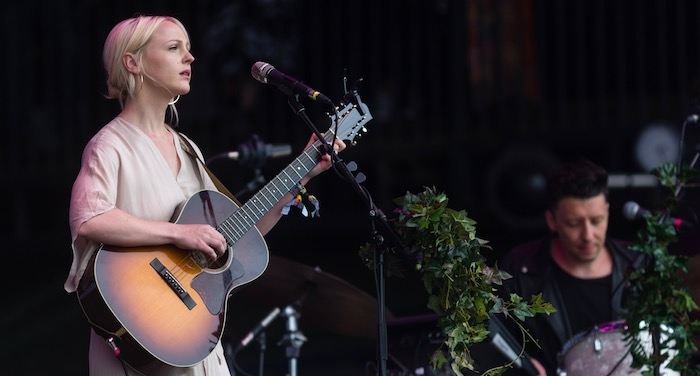 Laura Marling at Glastonbury by Maja Smiejkowska - Best New Bands