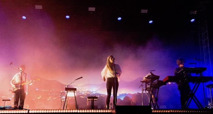 London Grammar at Glastonbury by Maja Smiejkowska - Best New Bands