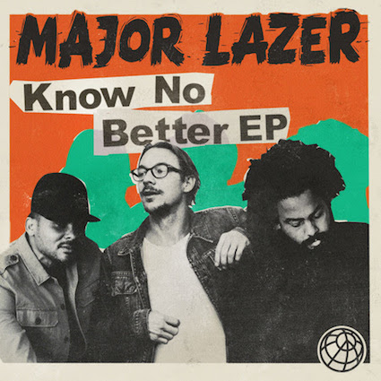 Major Lazer EP Cover - Best New Bands