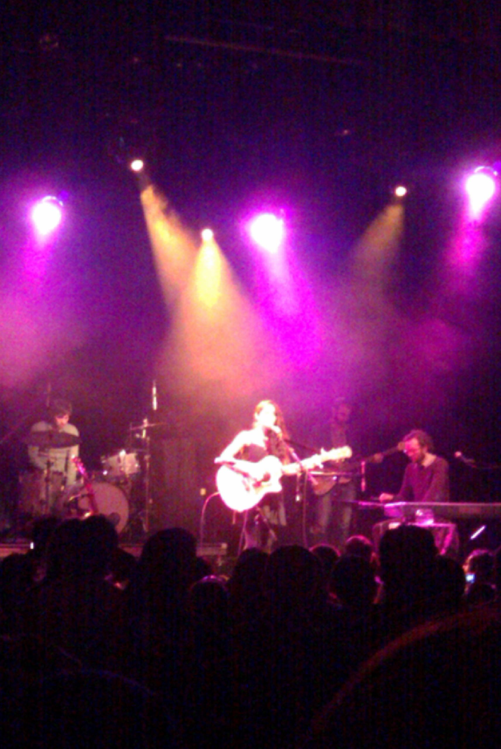 Kina Grannis El Rey 2 The Adorable Kina Grannis Graces the El Rey in LA...Hey!