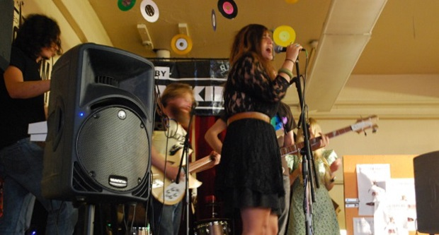 Rose Windows Releases Its Debut Album To an Anxious Crowd at