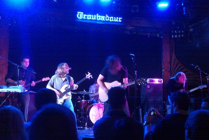 Thatwasthentroubadour Talent at the Troubadour: The Hush with The Modern Drone, Bethpage Black, People by the Sea, thatwasthen, and Satellite Thieves