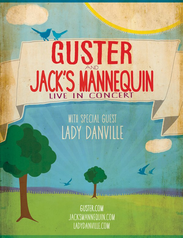 Tour Sampler: Lady Danville Hits the Road with Guster and Jacks Mannequin